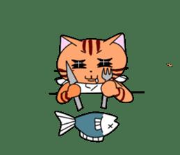 3 sisters' cat sticker #74283