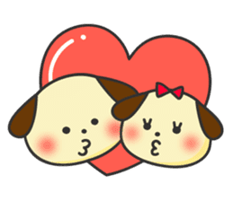 Love Puppy sticker #74309