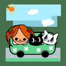ichigo*clover sticker #74665