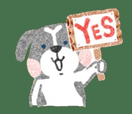 Pu-chan&Fittan sticker #75617