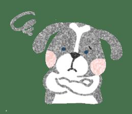 Pu-chan&Fittan sticker #75619