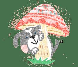 Pu-chan&Fittan sticker #75634