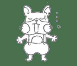 Pu-chan&Fittan sticker #75635