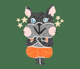 Pu-chan&Fittan sticker #75643