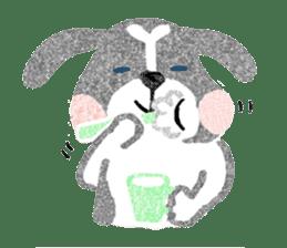 Pu-chan&Fittan sticker #75647
