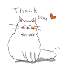 Happy-go-Lucky Cat Ryu sticker #75778