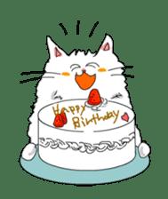 Happy-go-Lucky Cat Ryu sticker #75791