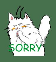 Happy-go-Lucky Cat Ryu sticker #75792