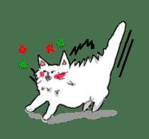 Happy-go-Lucky Cat Ryu sticker #75801