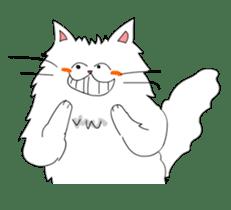 Happy-go-Lucky Cat Ryu sticker #75807