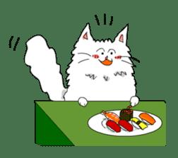 Happy-go-Lucky Cat Ryu sticker #75812
