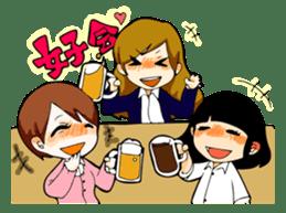 We are office girls! sticker #75892