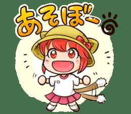 NEKOMIMI Girl's-HighSpirited sticker #76456