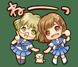 NEKOMIMI Girl's-HighSpirited sticker #76462