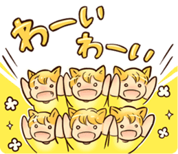 NEKOMIMI Girl's-HighSpirited sticker #76475