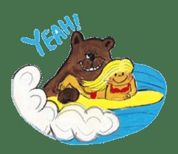 Lovely Friends World sticker #80510