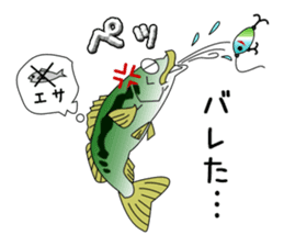 LET'S BASS FISHING!! sticker #80819