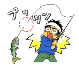 LET'S BASS FISHING!! sticker #80824