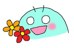 A PRETTY INSECT SHAPED ROBOT sticker #81203