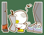 ahirukacho sticker #81244