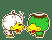 ahirukacho sticker #81249
