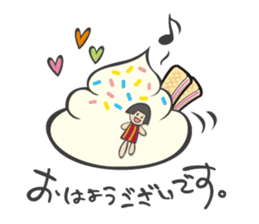 Ms.Creamy sticker #81277