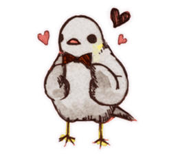 Birds STAMP  ein sticker #81362
