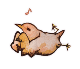 Birds STAMP  ein sticker #81363