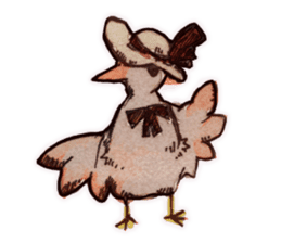Birds STAMP  ein sticker #81372