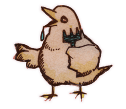 Birds STAMP  ein sticker #81388