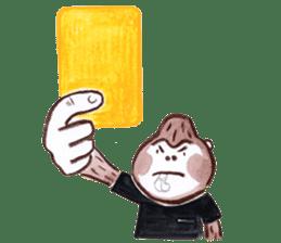 DARADARA GORILLA  SOCCER sticker #81530