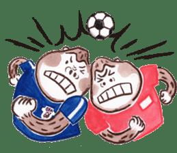 DARADARA GORILLA  SOCCER sticker #81543