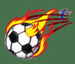 DARADARA GORILLA  SOCCER sticker #81554