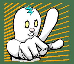 """Underground People """"TSUCHIO"""" sticker #81722"""