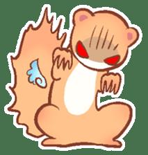 wing&tail (ferret) sticker #81802