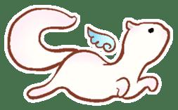 wing&tail (ferret) sticker #81827