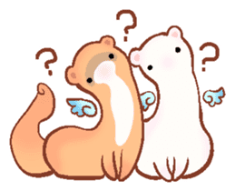 wing&tail (ferret) sticker #81830