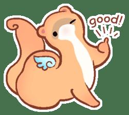 wing&tail (ferret) sticker #81831