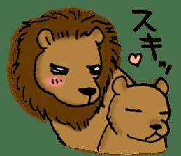 Animals of the zoo sticker #81902