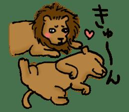 Animals of the zoo sticker #81903