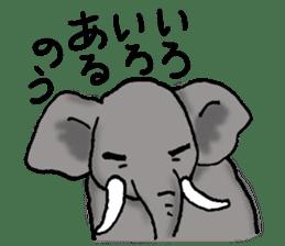 Animals of the zoo sticker #81908