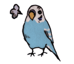 Birds STAMP vogel sticker #82003