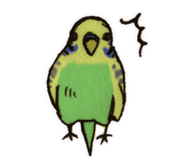 Birds STAMP vogel sticker #82004