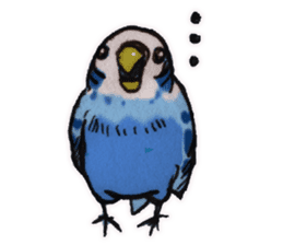 Birds STAMP vogel sticker #82005