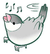 wing&tail (bird) sticker #82690