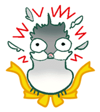 wing&tail (bird) sticker #82692