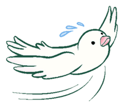 wing&tail (bird) sticker #82707