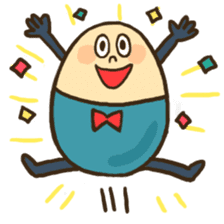 Mr.egg&Friends sticker #83040