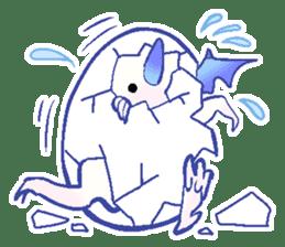 wing&tail (dragon) sticker #83214