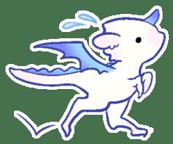wing&tail (dragon) sticker #83227